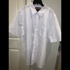 Other - Men Oversized White button down shirt